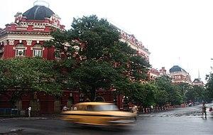 Netaji Subhas Road, Kolkata - Writer's Building as seen from Netaji Subhas Road