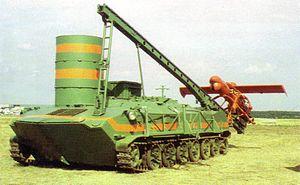 Yakovlev Pchela - Pchela-1T UAV on the BTR-D vehicle