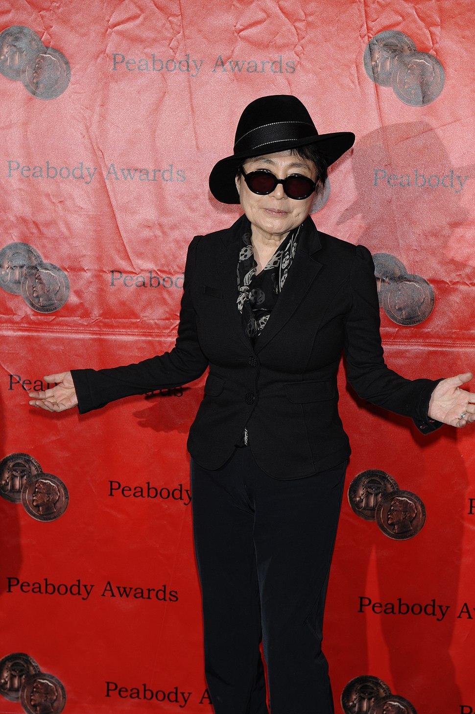 Yoko Ono at the 70th Annual Peabody Awards