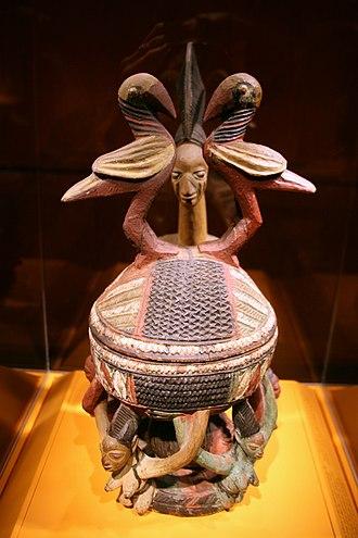 Ekiti people - Yoruba bowl from the Ekiti cultural area