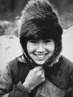 Young woman with hat - Kaska - Lower Post BC 1945