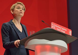 Yvette Cooper - Cooper speaking at the 2016 Labour Party Conference