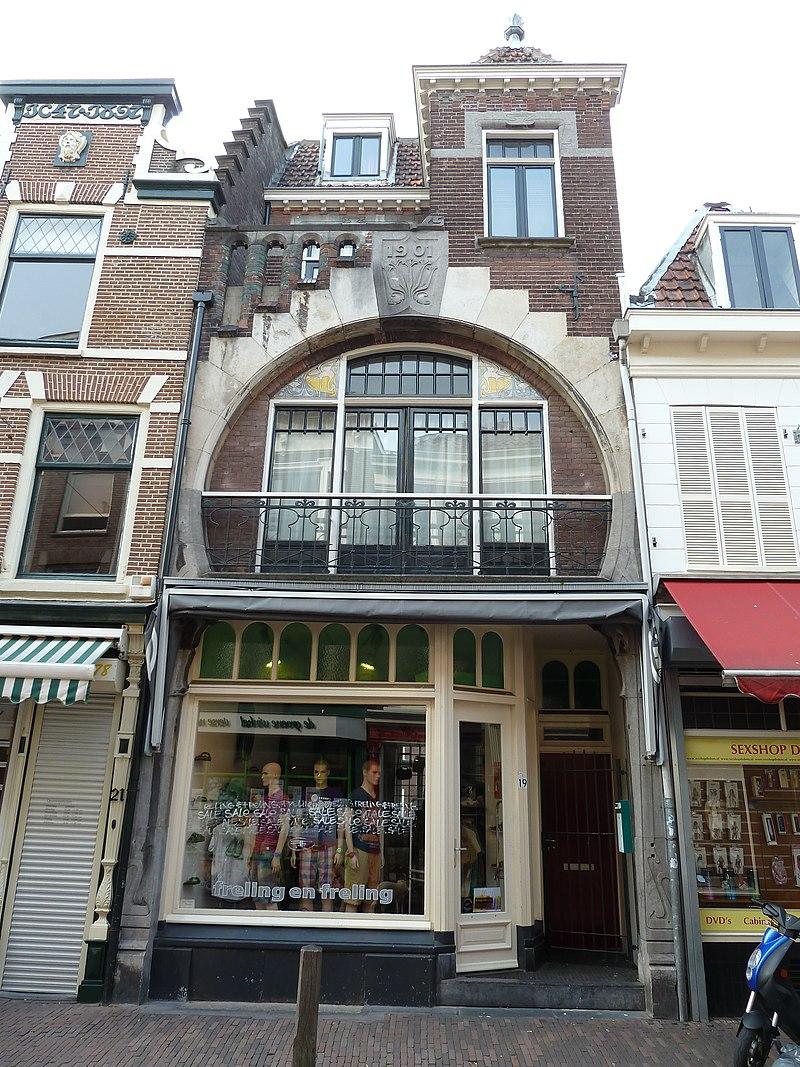 Woonwinkelpand met art nouveau invloeden in utrecht for Huis utrecht