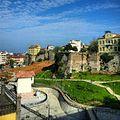 Zagnos park and Trabzon city walls.jpg