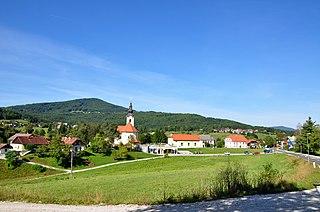 Zagradec, Ivančna Gorica Place in Lower Carniola, Slovenia