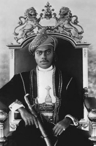 Ali bin Hamud of Zanzibar - Ali bin Hamud of Zanzibar, c. 1907