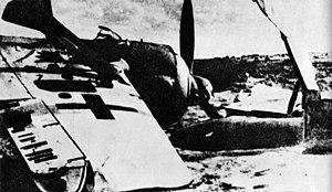 Zestrzelony Focke Wulf 190.jpg