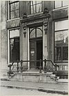 zicht op ingangspartij grachtenhuis - amsterdam - 20319561 - rce