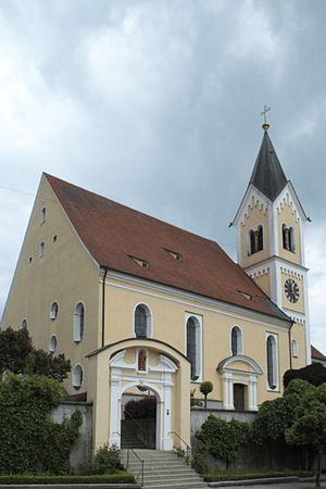 Ziemetshausen - Ziemetshausen St. Peter und Paul