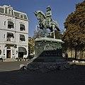 Zijaanzicht van ruiterstandbeeld - 's-Gravenhage - 20396148 - RCE.jpg