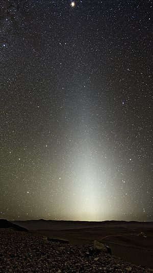 Zodiacal Light Seen from Paranal.