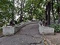 """""""Дом на горке"""", главный дом усадьбы с пандусом в сад, Земляной Вал ул., 53, Москва.jpg"""