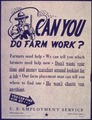 """Can You Do Farm Work"" - NARA - 514023.tif"