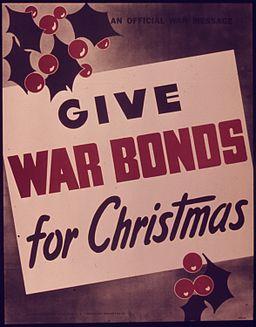 """""""Give War Bonds for Christmas"""" - NARA - 514402"""