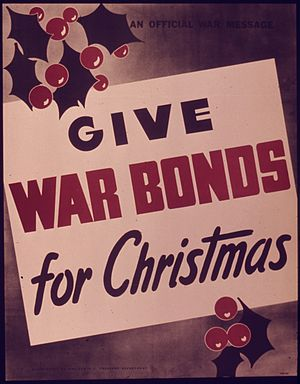 """Give War Bonds for Christmas"" - NAR..."