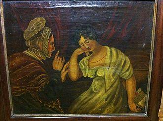 "Letitia Elizabeth Landon - Image: ""The Love Letter"" painting by Henry James Richter"