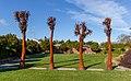 'Is Man an Ape or Angel?' sculpture in Addington, Christchurch, New Zealand 02.jpg