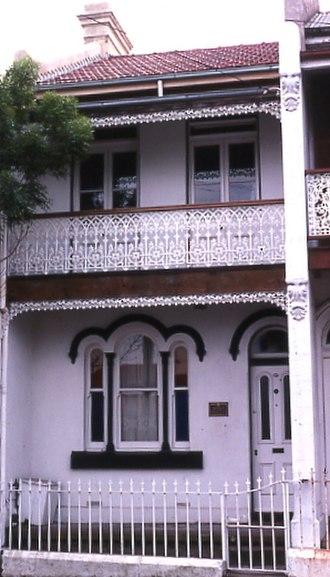 Neville Wran - Image: (1)Neville Wrans childhood home