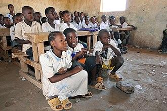 Kakuma - School children in Kakuma refugee camp