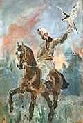 (Albi) Alphonse de Toulouse-Lautrec en fauconnier - Toulouse-Lautrec.jpg