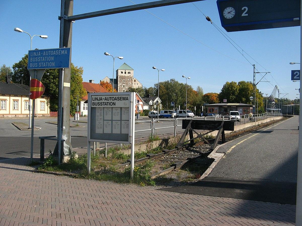 Turun Linja-Autoasema Osoite