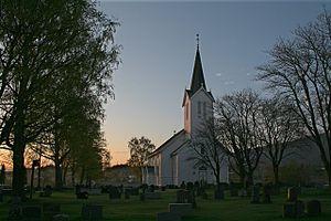 Åsen Church - Image: Åsen kyrkje 2