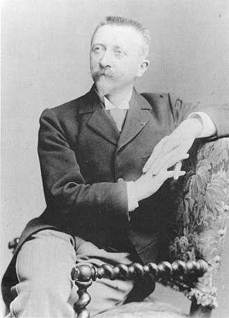 Édouard Niermans (architect) - Édouard-Jean Niermans in 1895 by Pierre Petit