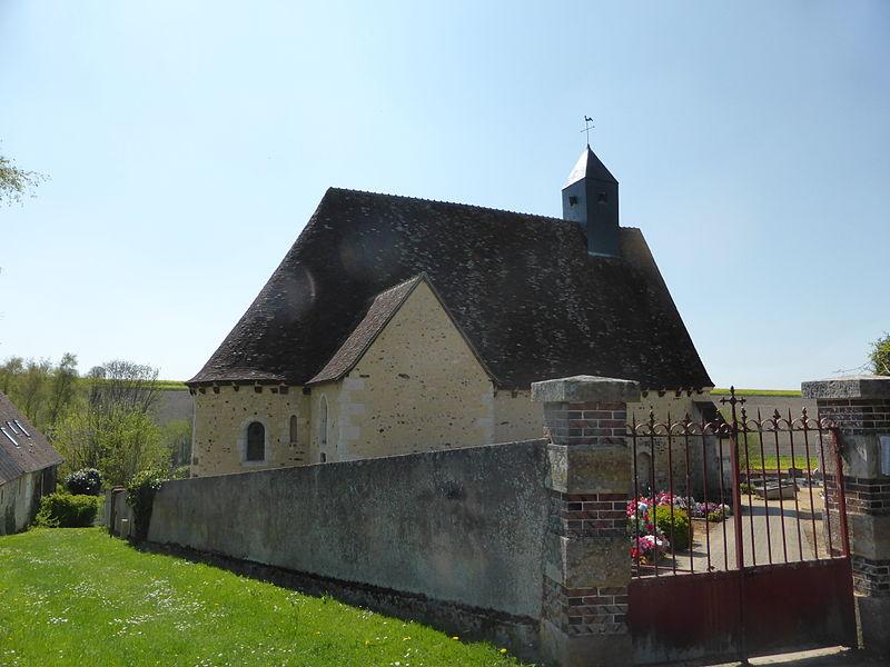 Église Notre-Dame de La Gaudaine, en Eure-et-Loir.