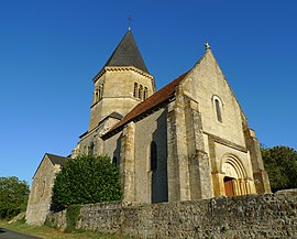 The church of Saint-Fiacre, in Ourouër