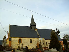 The church of Marfontaine
