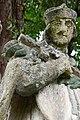 Ötvöskónyi, Nepomuki Szent János-szobor 2021 11.jpg