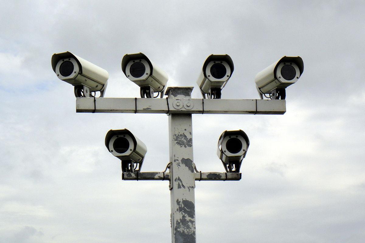 Überwachungskameras Autohof in Thüringen an A9 03.06.2013 10-07-08.JPG