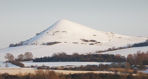 Číčov vrch zima