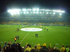 Kleanthis Vikelidis Stadium - Image: Ο Ναος