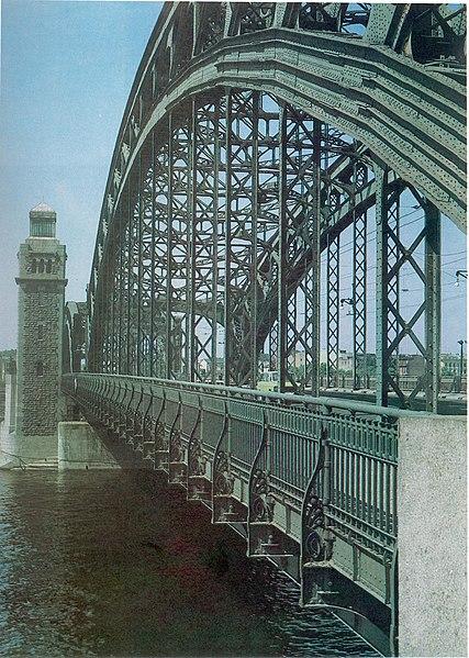 File:Ажурный Большеохтинский мост через Неву.jpg