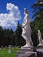 Архангельское. Терраса перед южным фасадом дворца. 2.jpg