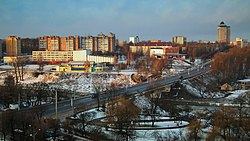 Mogilev in winter