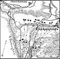 Карта к статье «Ески-Арнаутлар». Военная энциклопедия Сытина (Санкт-Петербург, 1911-1915).jpg