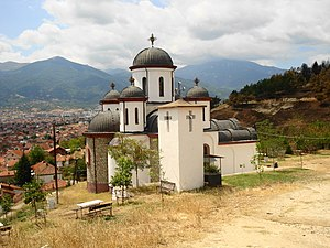 Forty Martyrs of Sebaste - Orthodox church of Forty martyrs of Sebaste in Bitola, Macedonia.
