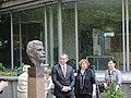 Министър Младенов открива бюст-паметник на Иван Вазов (5792564347).jpg