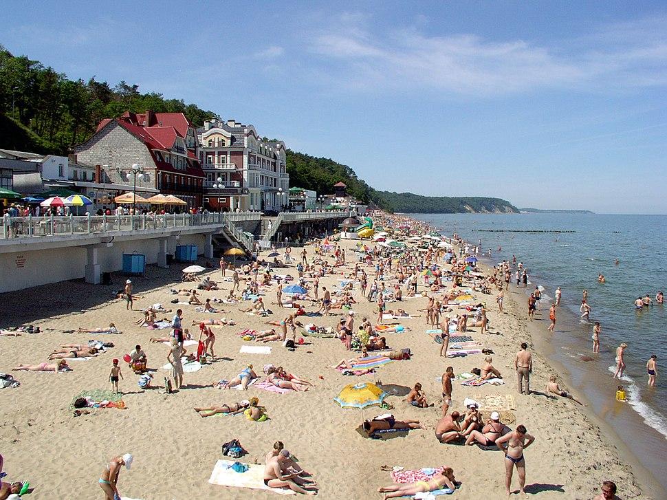 Пляж в Светлогорске - panoramio