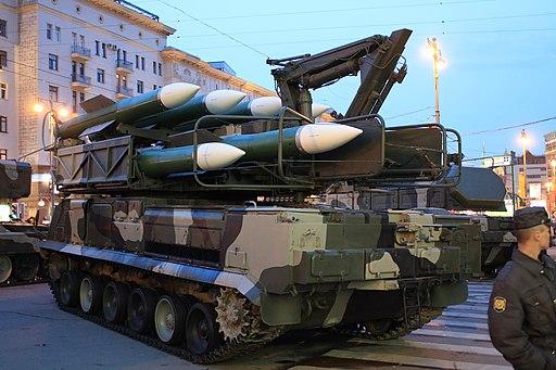 Пуско-заряжающая установка ЗРК Бук-М2 - 9А316