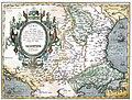 Румыния б.Фракия со странами Болгария Валахия Сирфия 1602 Антверпен авторы Giacomo.jpg