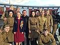 С актерами на съемках фильма к Дню Победы для проекта -ЖИТЬ.jpg