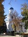 Трапезна з Покровською церквою і дзвіницею. Святогірський Успенський монастир 3.JPG