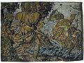 Циклоп Поліфем кидає скелю в аргонавтів, гобелен 17 ст.jpg