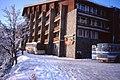 Чавдар автобус,Хотел Простор, София Hotel Prostor, Mount Vitosha, Sofia Jan 1995.jpg