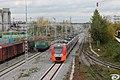 ЭС1-022, Россия, Татарстан, станция Тихорецкая (Trainpix 76070).jpg