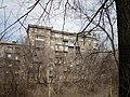 """Это дом """"Военвед"""". Снят от зоопарка через спуск Пассионарии. - panoramio.jpg"""
