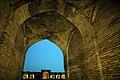 فضای شتر خان یا تالار استبل در کاروانسرای دیر گچین استان قم - کاروانسرای ساسانی 10.jpg